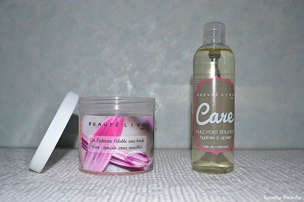 La ire chaude est parfaite pour épiler les aisselles et le maillot. Une huile post épilation apaise votre peau !