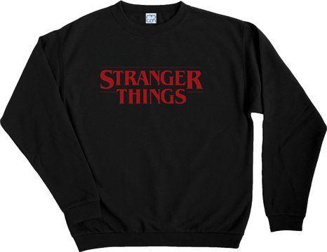 2dc40576c2 Stranger Things Black Sweater MCON (S)