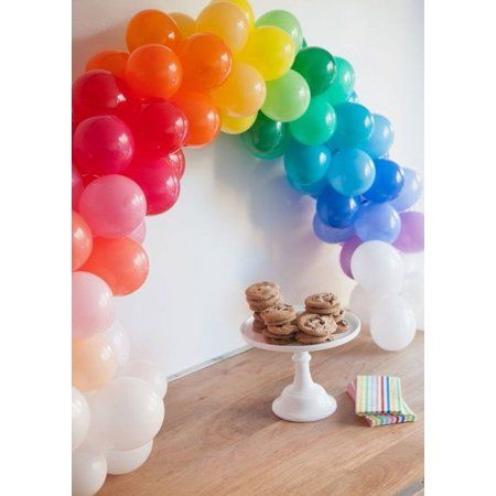 Efavormart 12FT Balloon Arch Table Stand (Metal Clamps) For Wedding Party Birthday Shower Celebration - Walmart.com