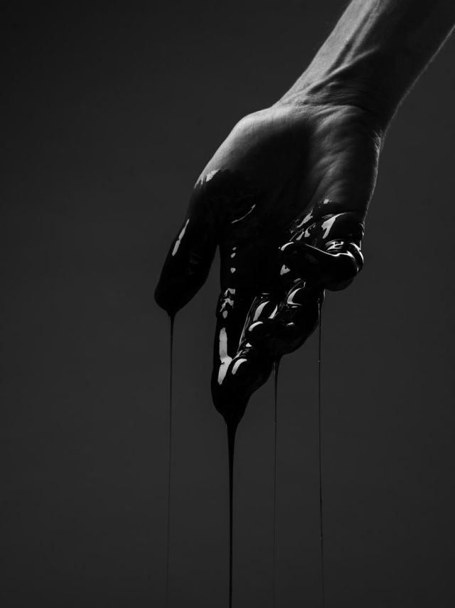 Bleeding Hand Shades Of Black Black White Hand Photography