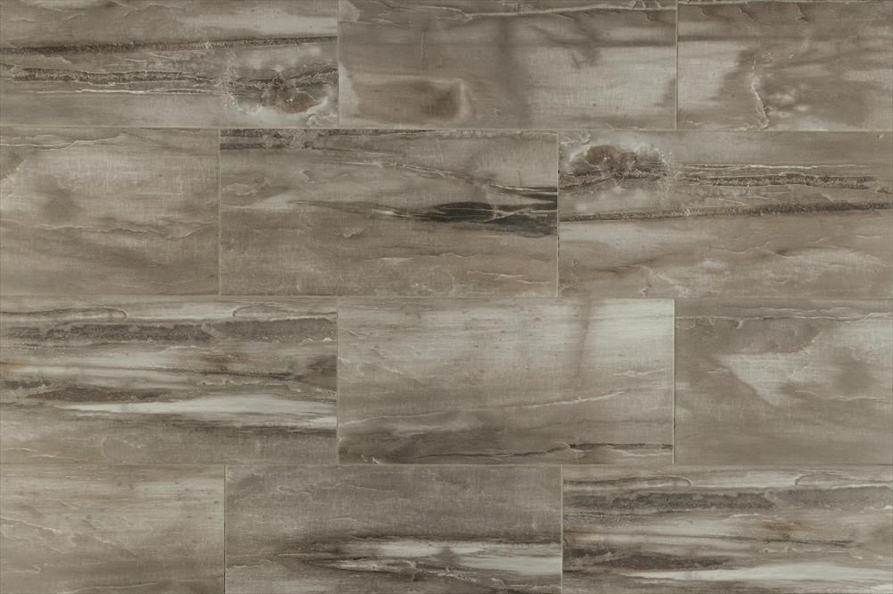 BuildDirect - Italian Porcelain Tile - Petrified Wood Series - Gray - Multi  View | Floor | Pinterest |