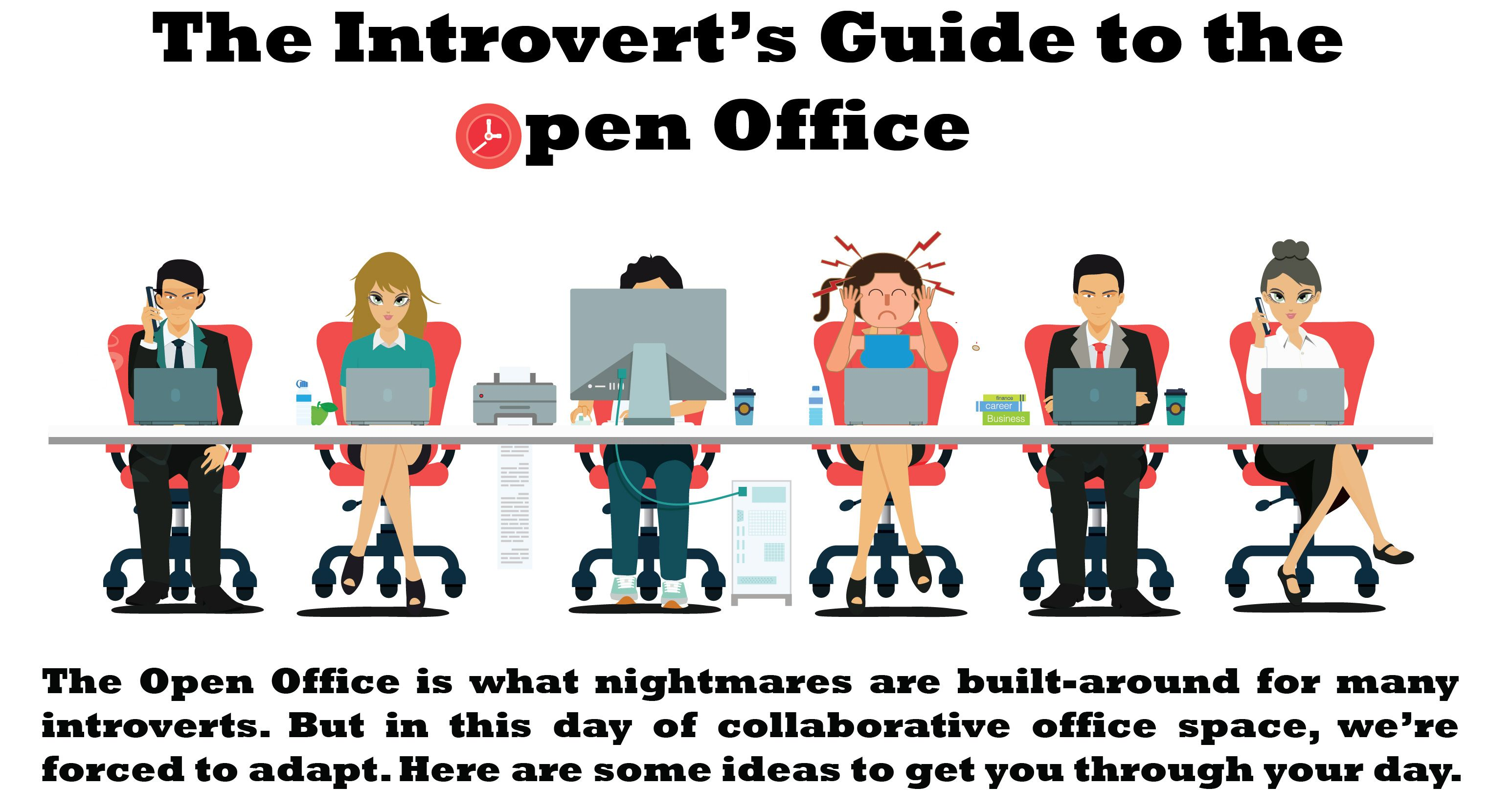 Here S What You Can Do To Survive The New Open Office Great Tips