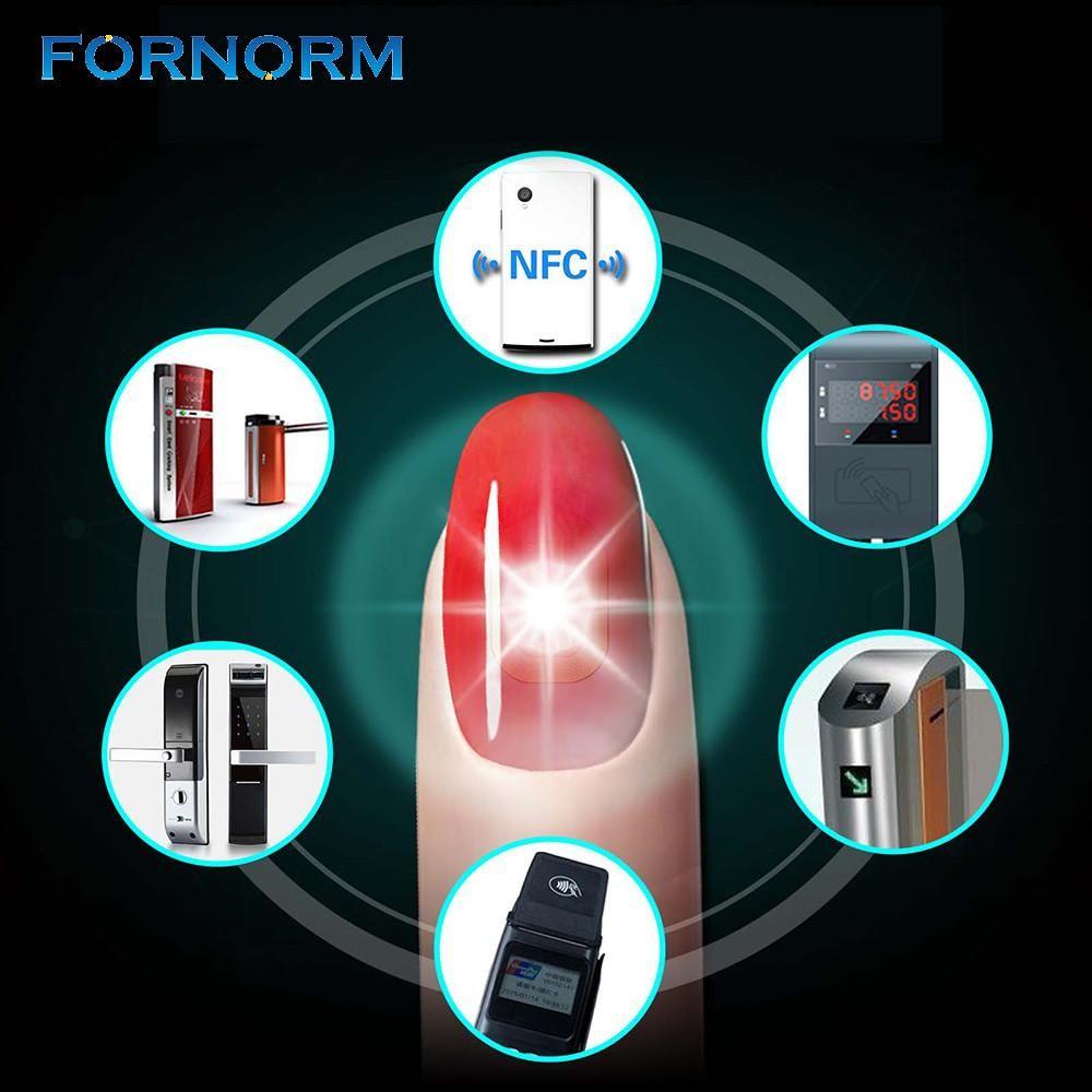 N2 Smart Nail Sticker Smart Nail NFC Lock Simulate IC card Connect ...