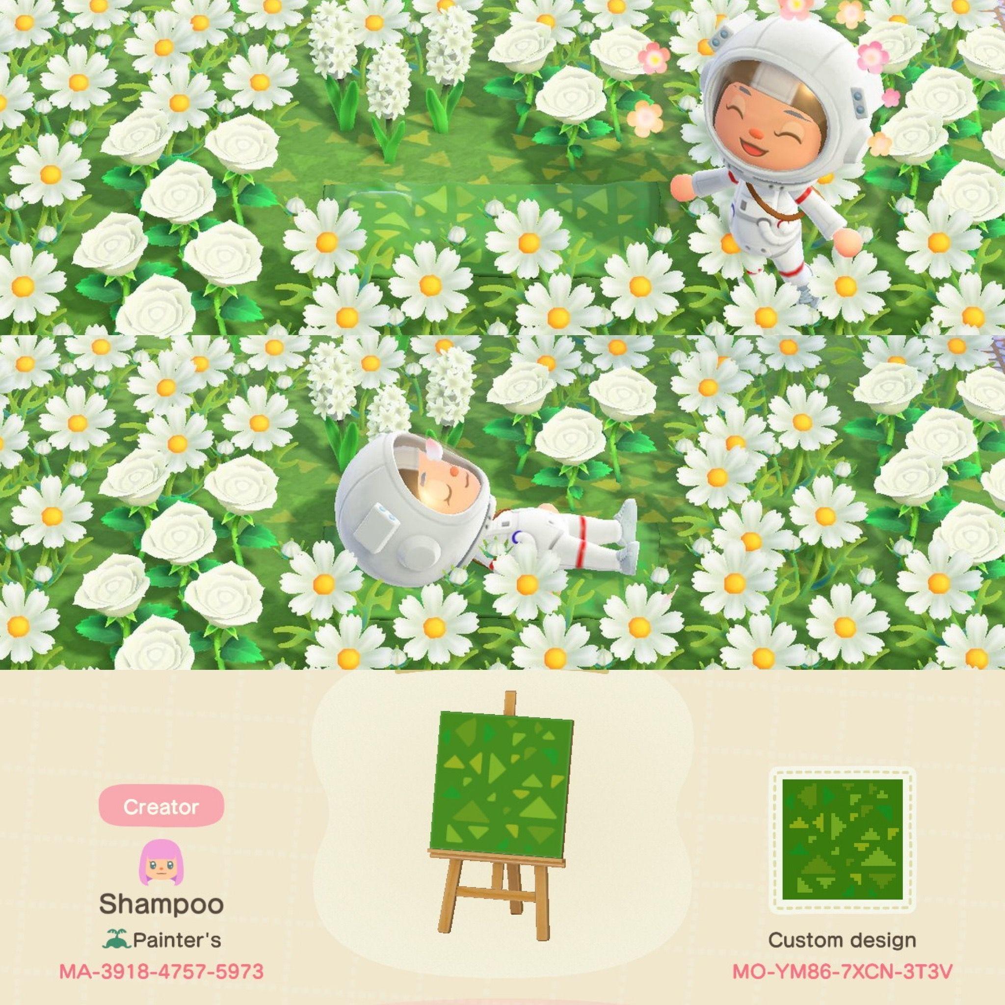 Animal Crossing New Horizons Grass Design in 2020 Animal