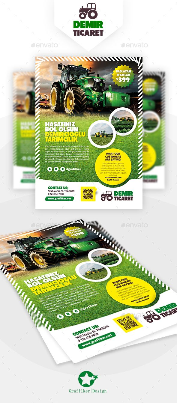 Garden Landscape Flyer Template Psd Indesign Indd Download Here