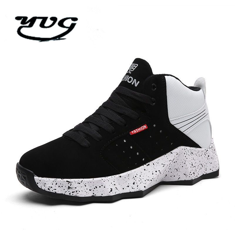 9e032d079724 2017 New Brand Style Sports Shoes Flat Boots Men Shoe Basketball Hoverboard  Students Male Basketball Shoes
