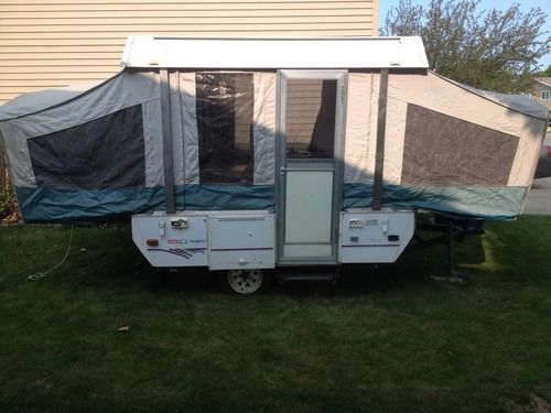 1996 Coleman Pop Up Camper For Sale Each Side Has A Full Size Bed