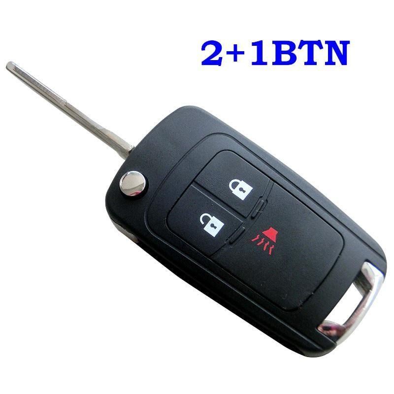 Entry Folding Flip Remote Car Key Shell Fit For Chevrolet Spark