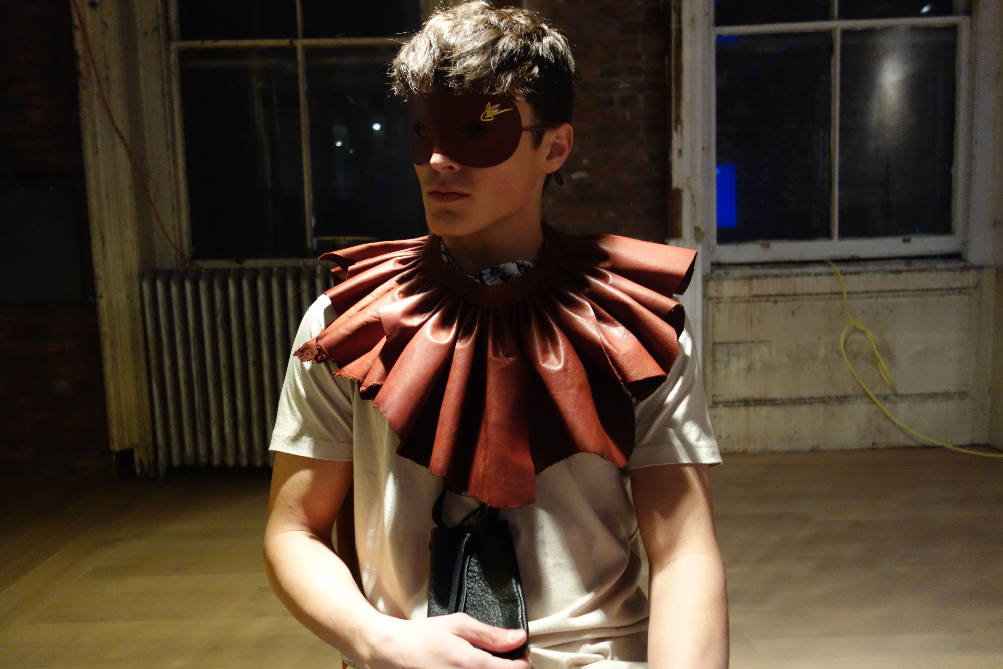 Colby Brittain in J. Elster The Mask and The Ruffle | Mask ...