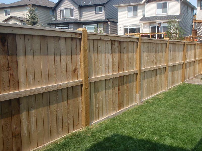 Wood Fence Ideas For Backyard | Moon Garden