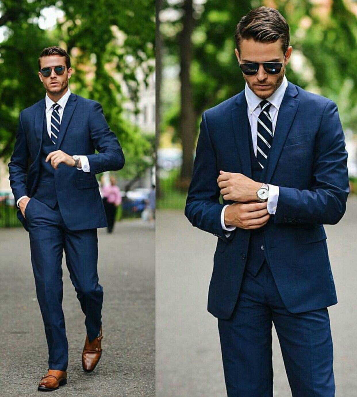 iamgalla with a nice navy suit combo dapper lifestyle mens suits  @iamgalla with a nice navy suit combo