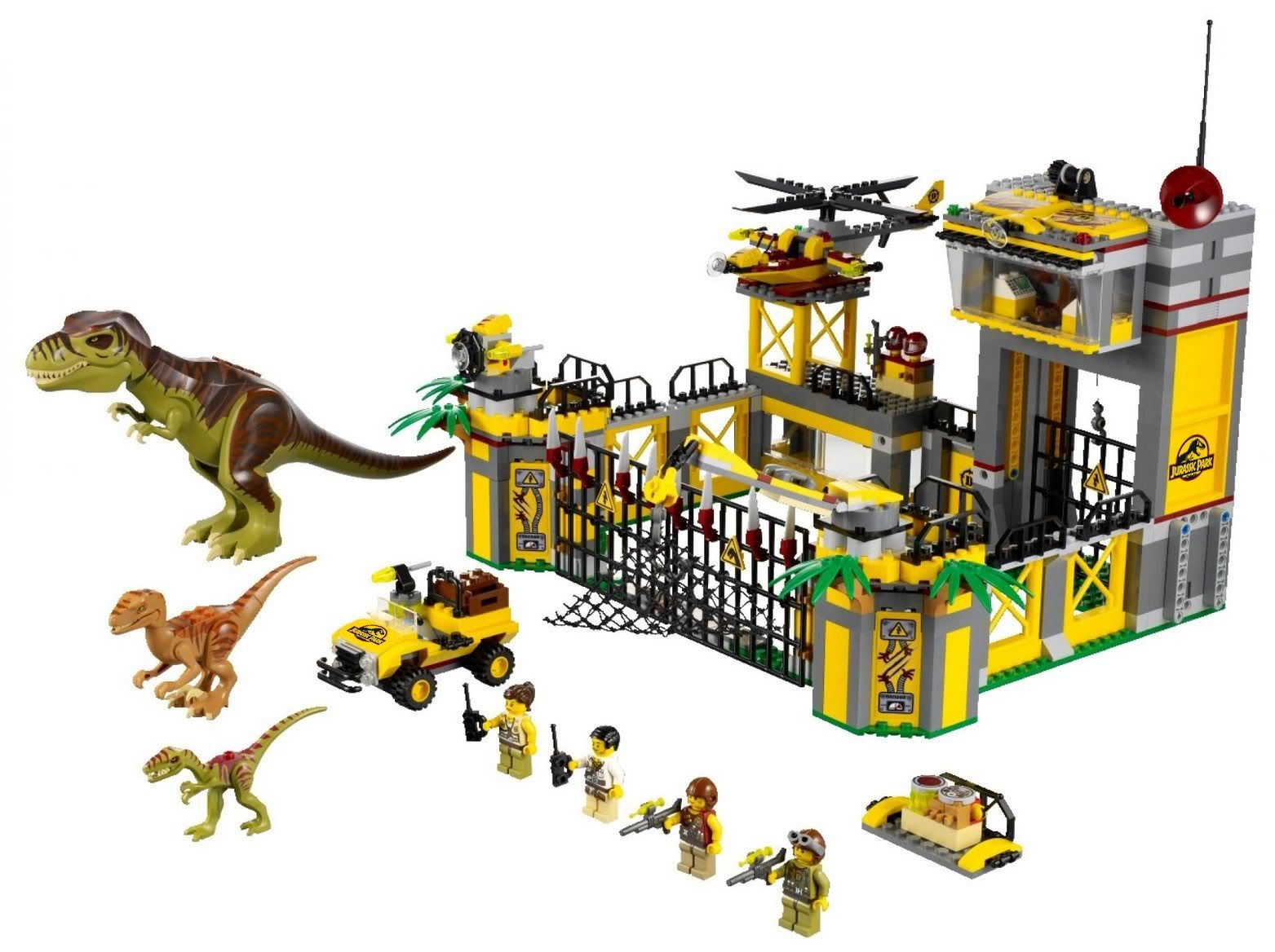 jurassic park lego sets search