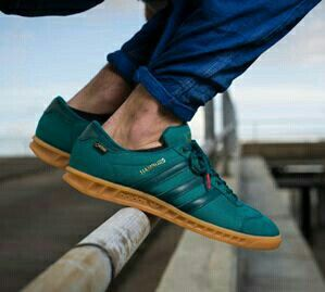 new arrival 408fb b44a2 NEW ADIDAS HAMBURG GORETEX IN EMERALD GREEN - THIS IS THE LATEST ADIDAS  RELEASE IN THEIR COLLABORATION WITH GORETEX