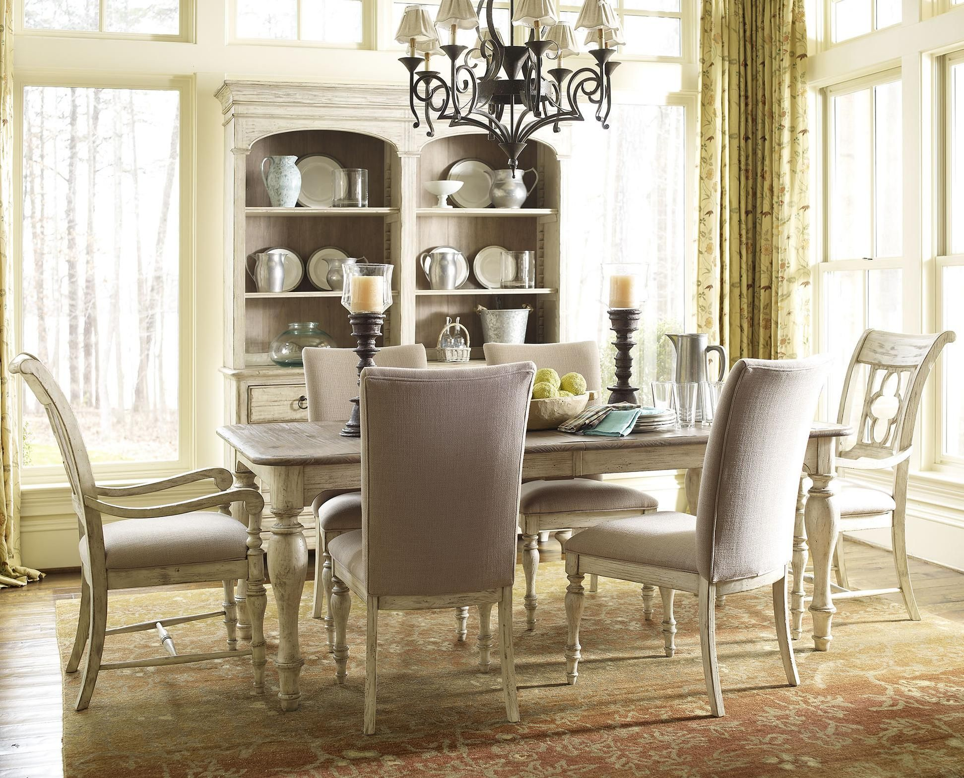 Weatherford 7 Piece Dining Set With
