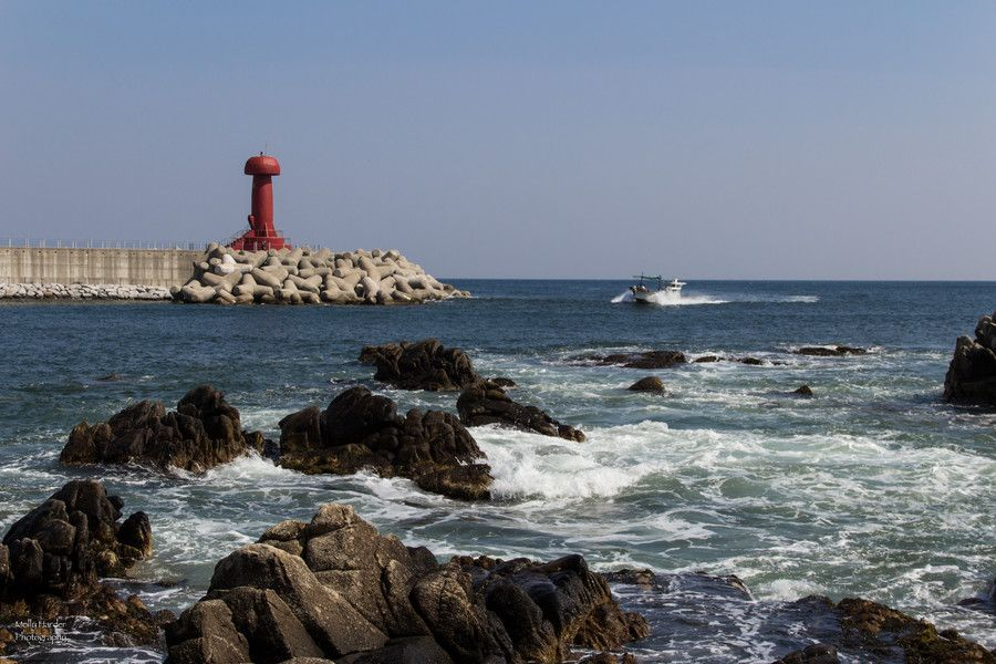 Boat and Lighthouse at Namae by Molly Harder on 500px
