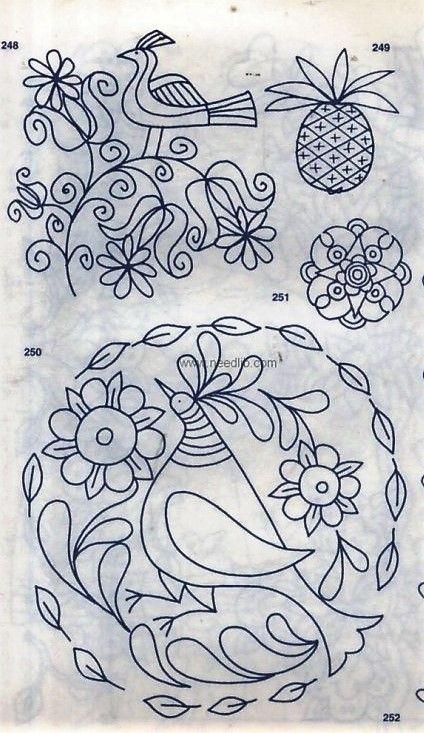 Pin de Ma Eugenia Torterolo en Bordados   Pinterest   Bordado y Dibujo