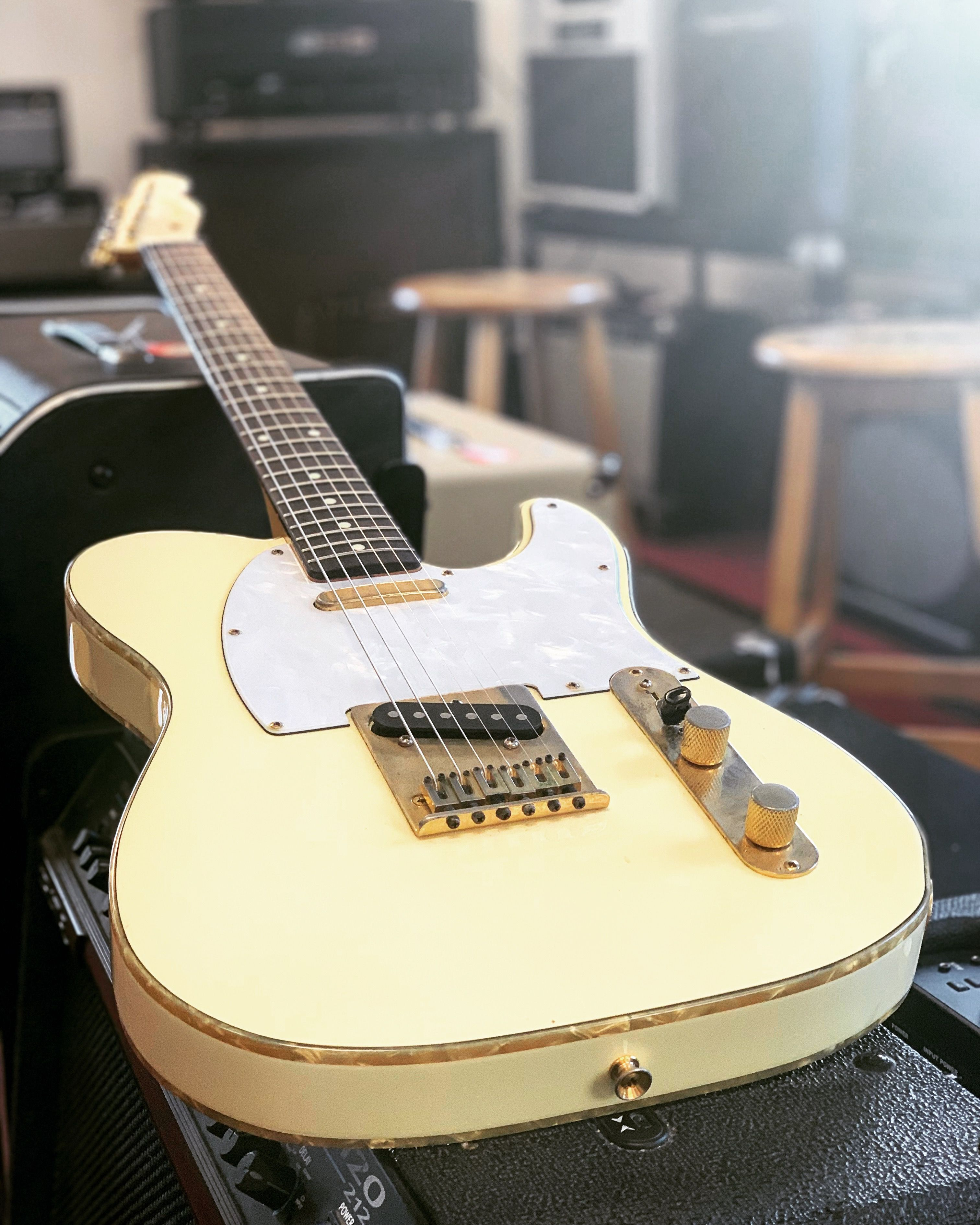 Built In Japan, This Fender Telecaster Custom (1997