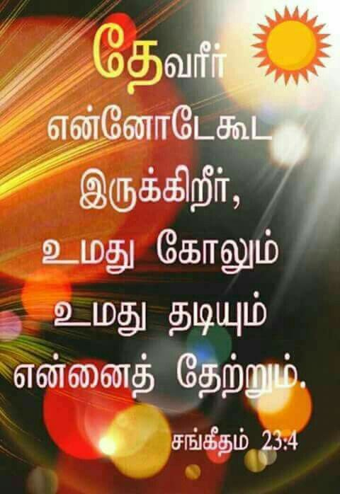 todays bible verse in tamil