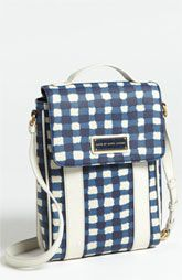 This makes me want to buy an iPad.   MARC BY MARC JACOBS 'Marc'd & Check'd' Print Tablet Crossbody Bag