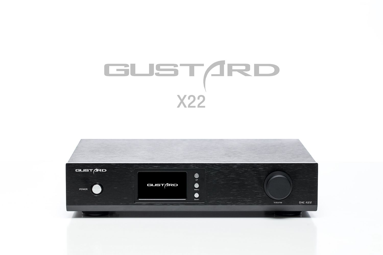 Gustard DAC-X22 ES9038Pro I2S XMOS DSD DOP 384K DAC Decoder