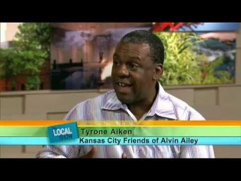 Kansas City Friends Of Alvin Ailey Tyrone Aiken On Kcpt The Local Show Tyrone Alvin Ailey Kansas City