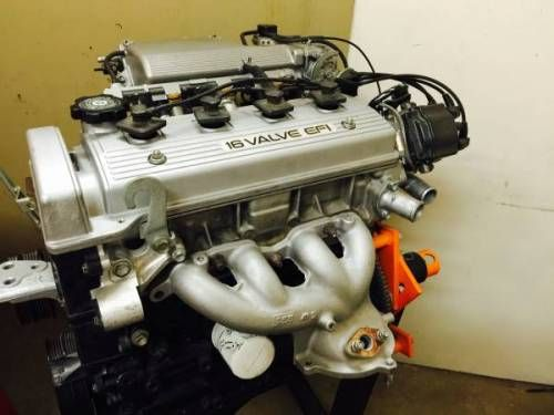 Toyota 16 Valve EFI DOHC engine 4a | ToyotaScionLexus