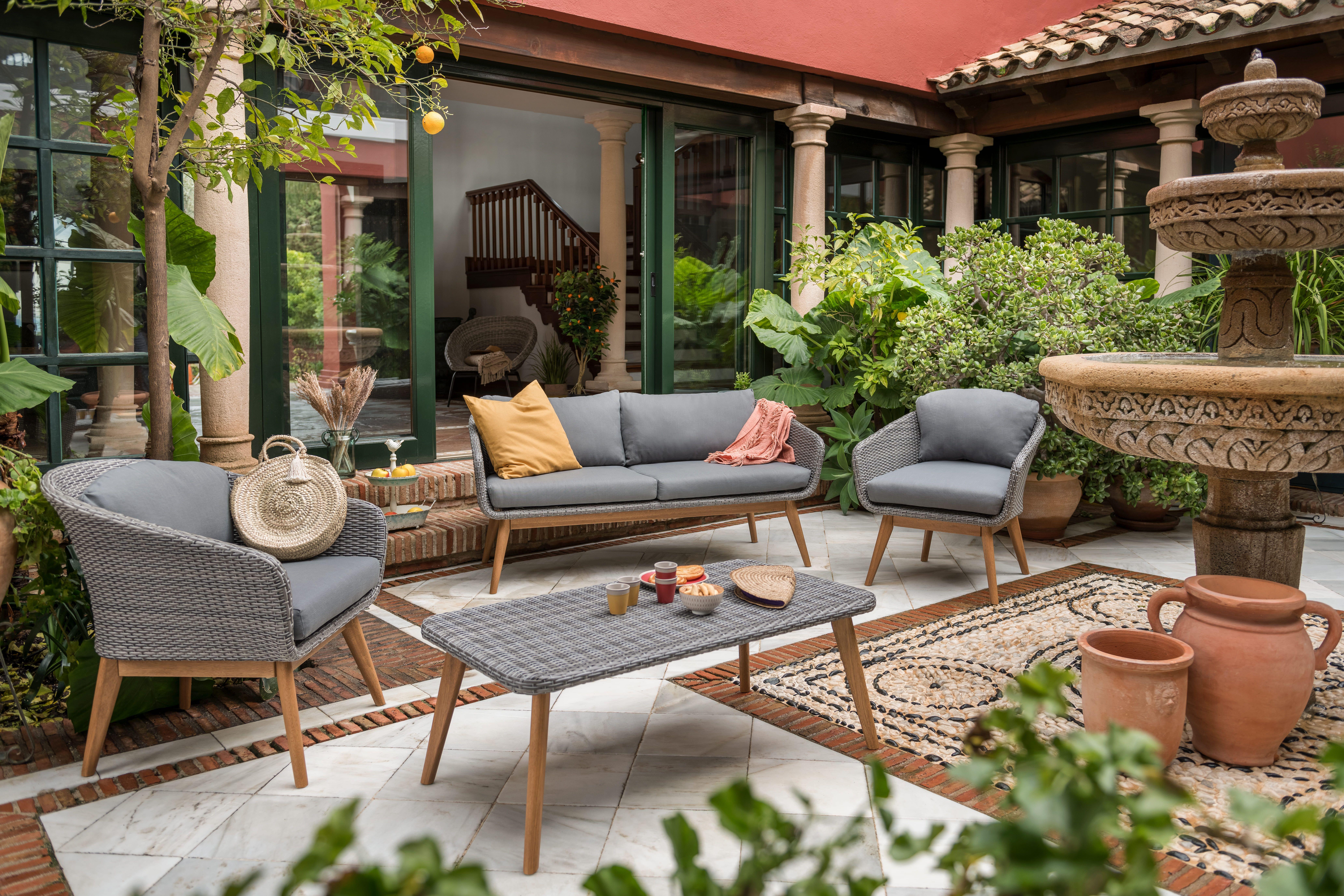 Mobilier Jardin Design Scandinave