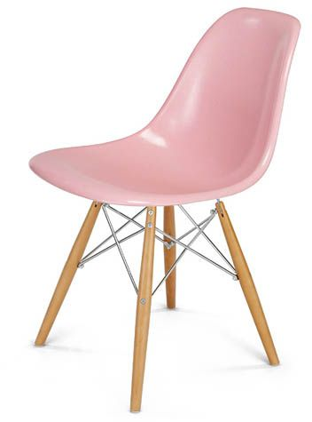 Eames style DSX Fiberglass Shell Chair Side Shell Dowel