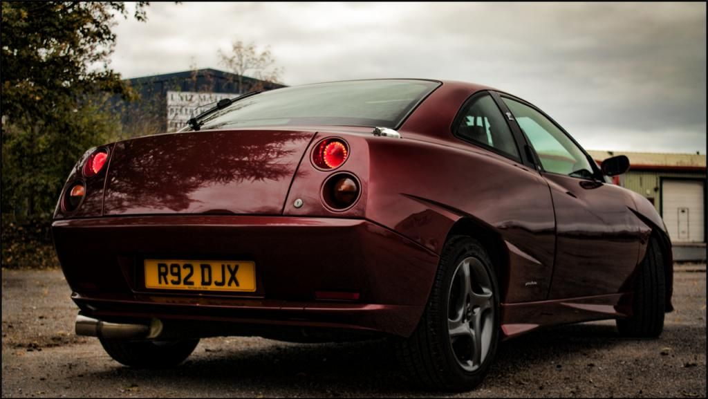 Fiat Coupe 20v Turbo Wine Red Rosso Winner