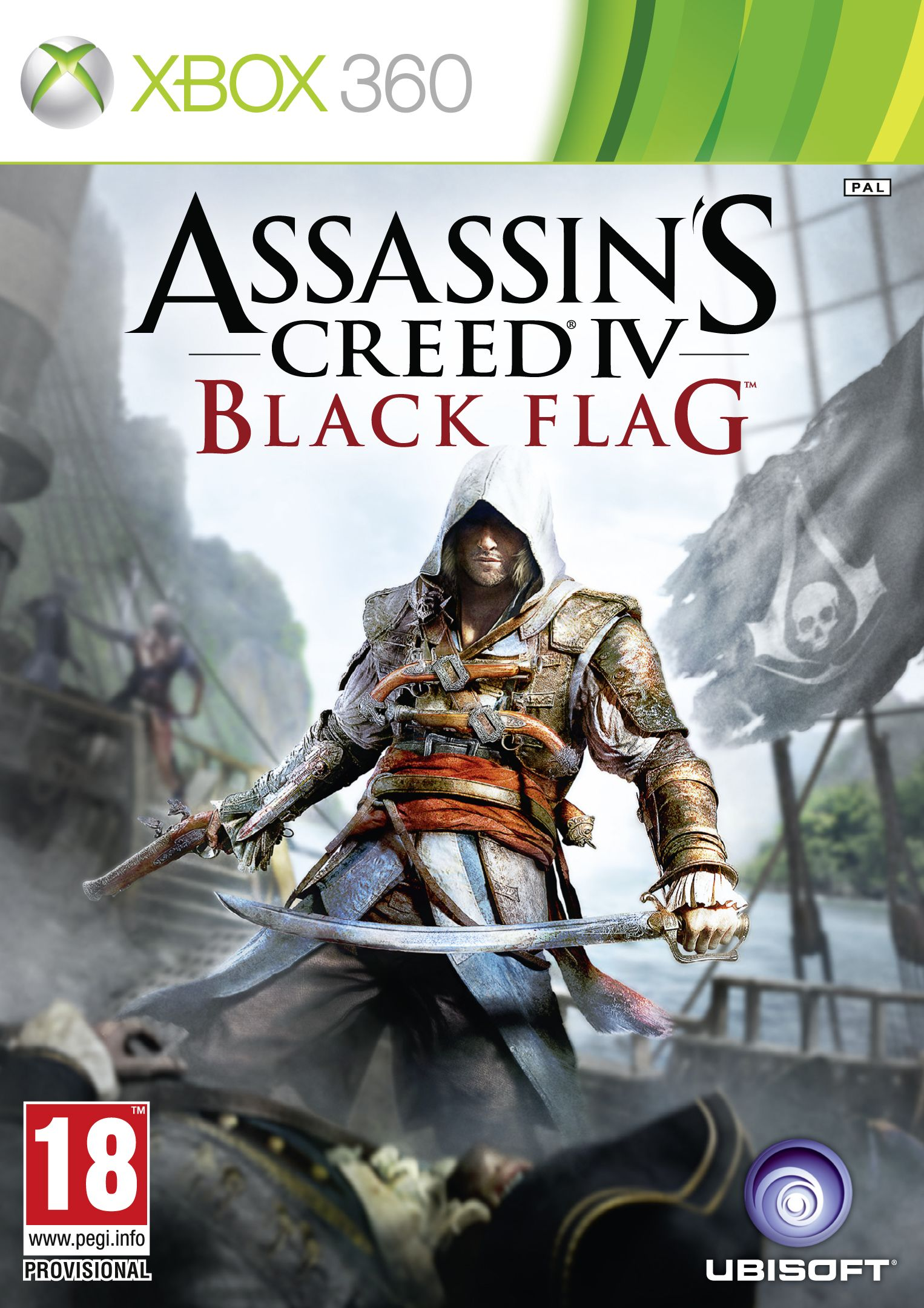 Assassin S Creed Iv Black Flag Xbox 360 Cover Http Www