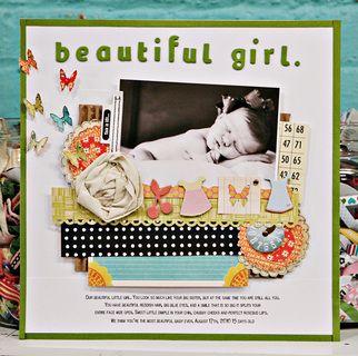 beautiful girl * american crafts by Jen Jockisch at @Studio_Calico