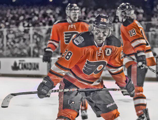 low cost 89130 77457 Claude Giroux Winter Classic | Randomm<3 | Flyers hockey ...