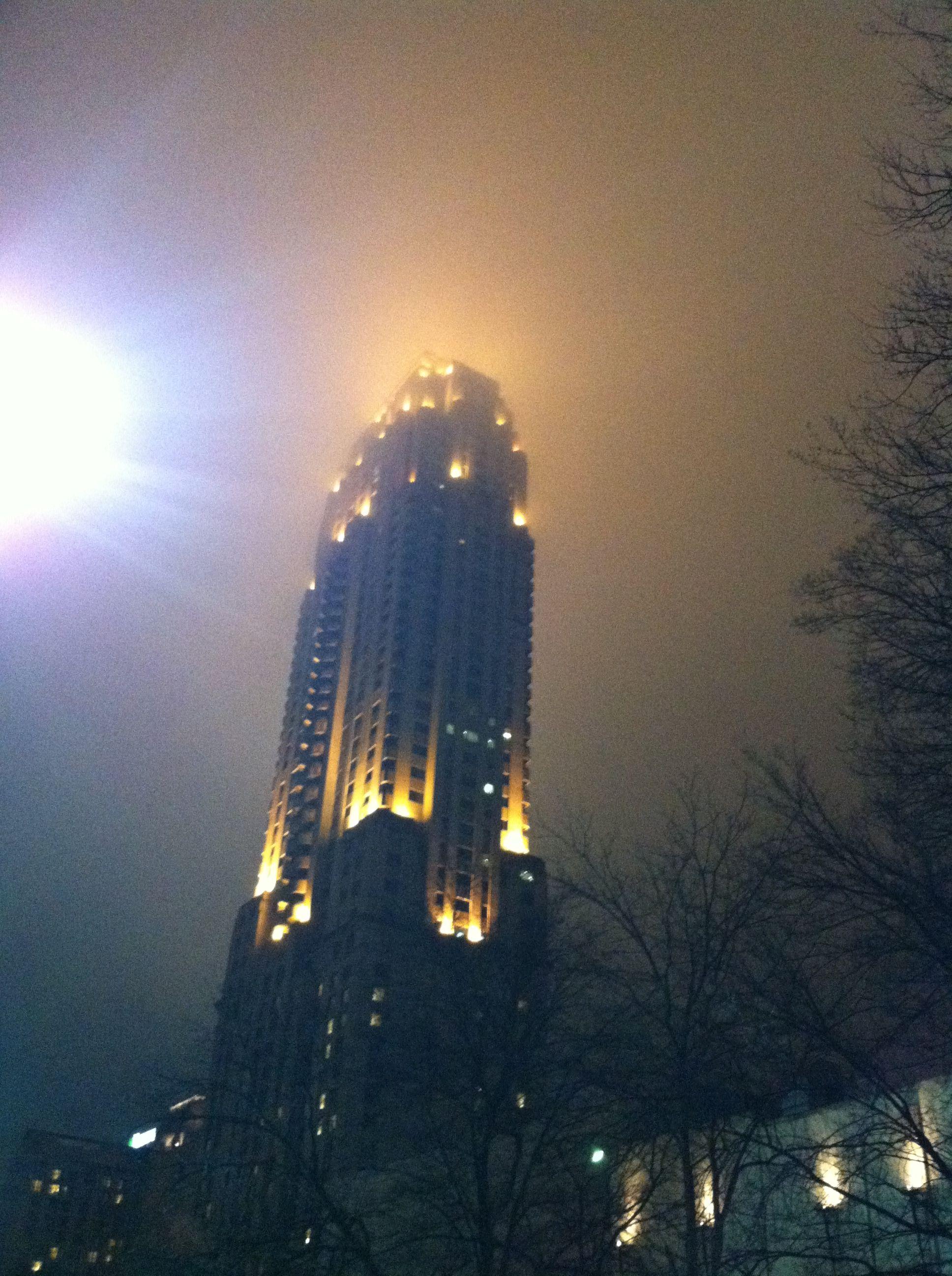 Atlanta sky.
