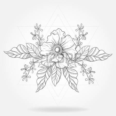 Lotus Flower Tattoo Designs Freehand Boho Tattoo Blackwork
