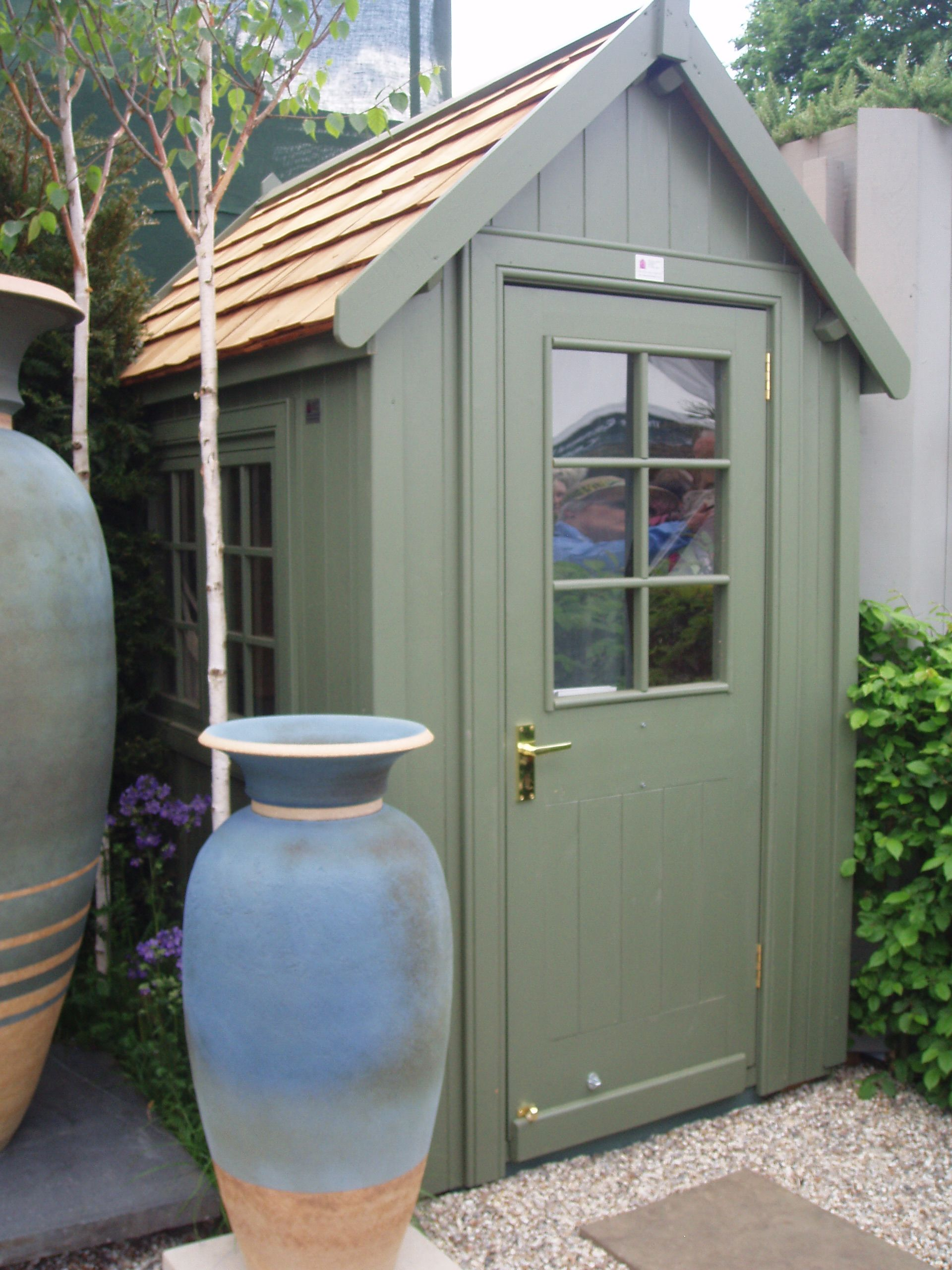 6x4 Potting Shed At Chelsea Flower Show Garden Shed Interiors Posh Sheds Shed