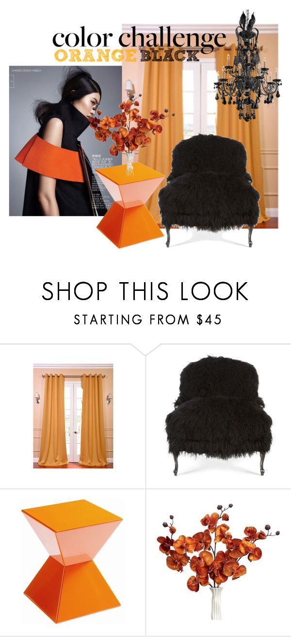 """Halloween Decor"" by annasfashionoutfits ❤ liked on Polyvore featuring interior, interiors, interior design, home, home decor, interior decorating, EFF, Old Hickory Tannery, Sunpan and contest"