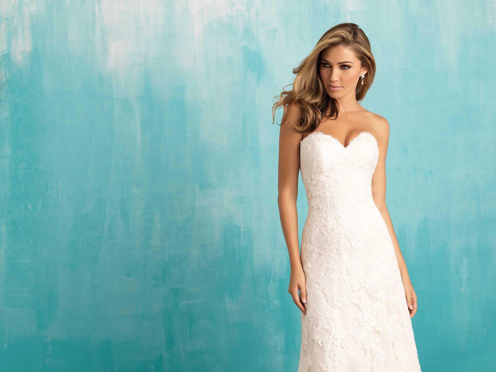Allure Bridals: Style: 9309 | A L L U R E BRIDALS | Pinterest ...