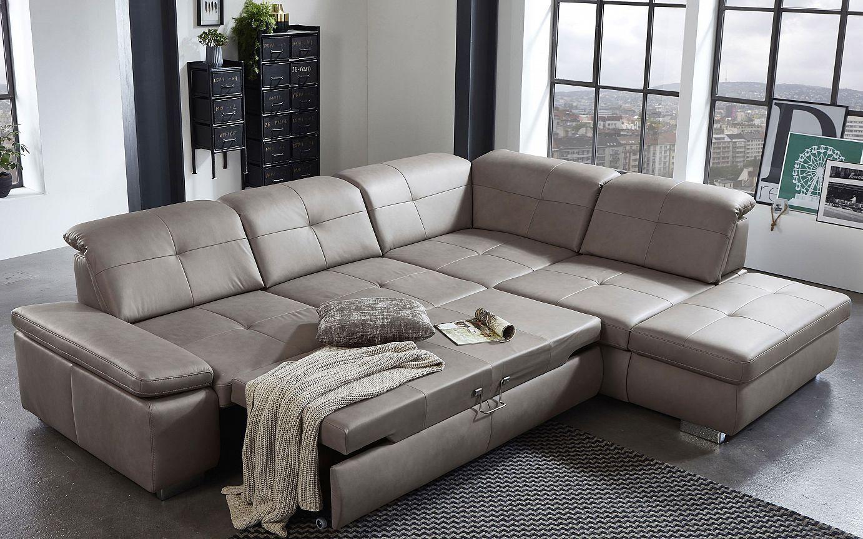 Billig Leder Ecksofa Mit Bettfunktion Moderne Couch Ecksofa Sofa
