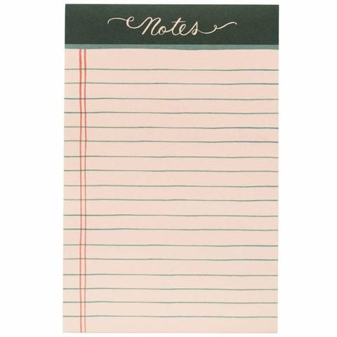 Rifle Paper Rose Lined Notepad - Waiting On Martha Write On - lined paper to write on