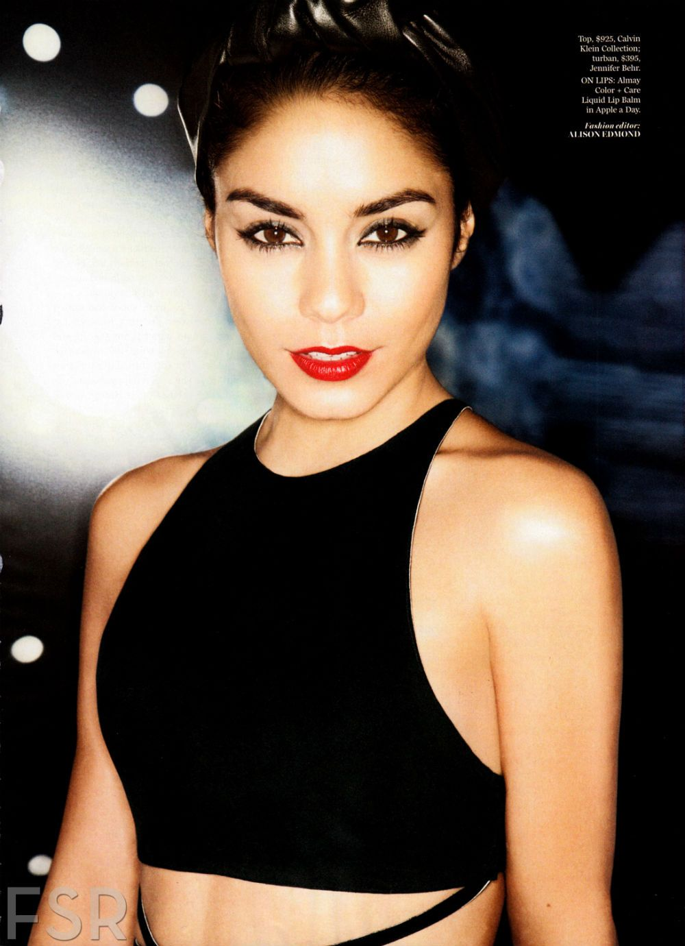 Vanessa hudgens by tesh for marie claire us october makeup