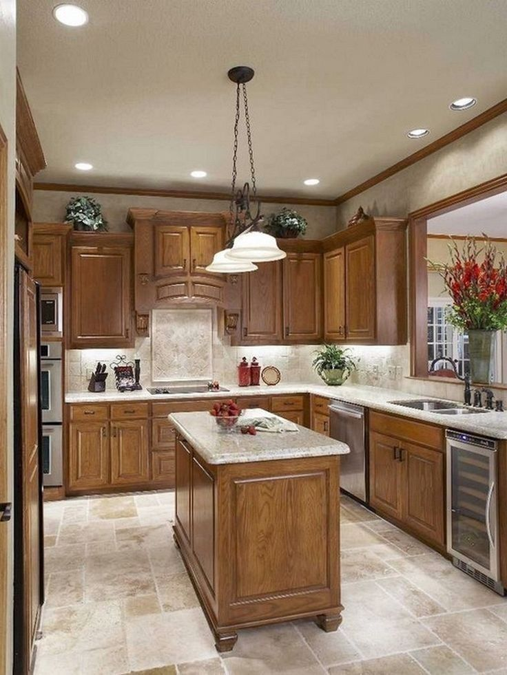 46 lovely kitchen backsplash with dark cabinets decor ideas 12 - Modern kitchen design, Traditional kitchen design, Home decor kitchen, Backsplash with dark cabinets, Modern oak kitchen, Kitchen remodel - 46 lovely kitchen backsplash with dark cabinets decor ideas 12