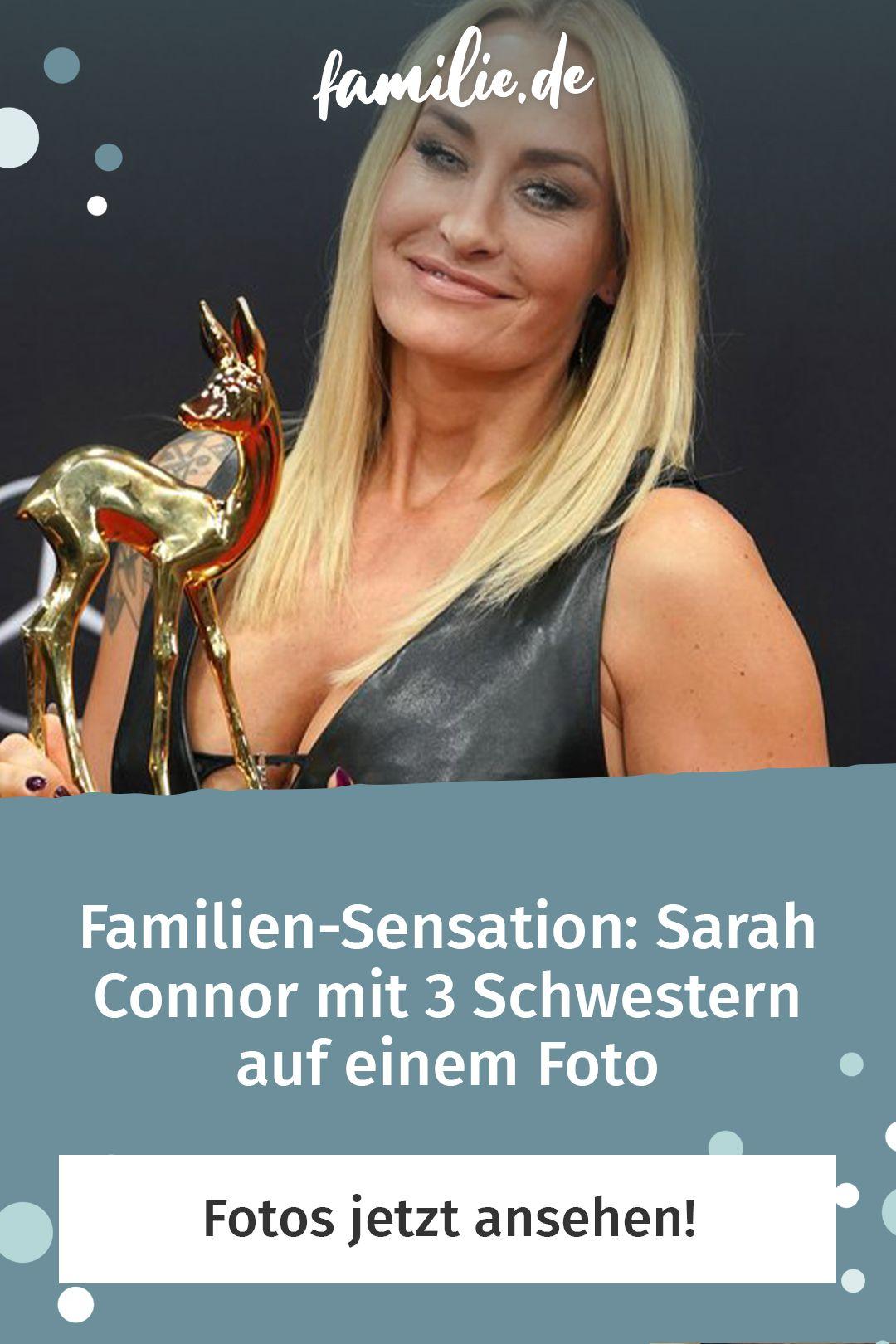 Sarah Connor Mit 3 Schwestern Auf Einem Foto Familie De Schwestern Geschwisterliebe Sarah Connor
