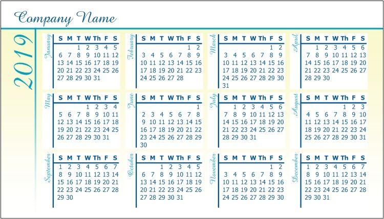 Pocket Calendars Personalised Photo Calendar