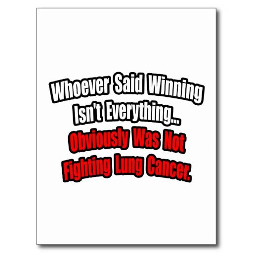 cancer quotes | Lung Cancer Quote Postcard For my papa bear