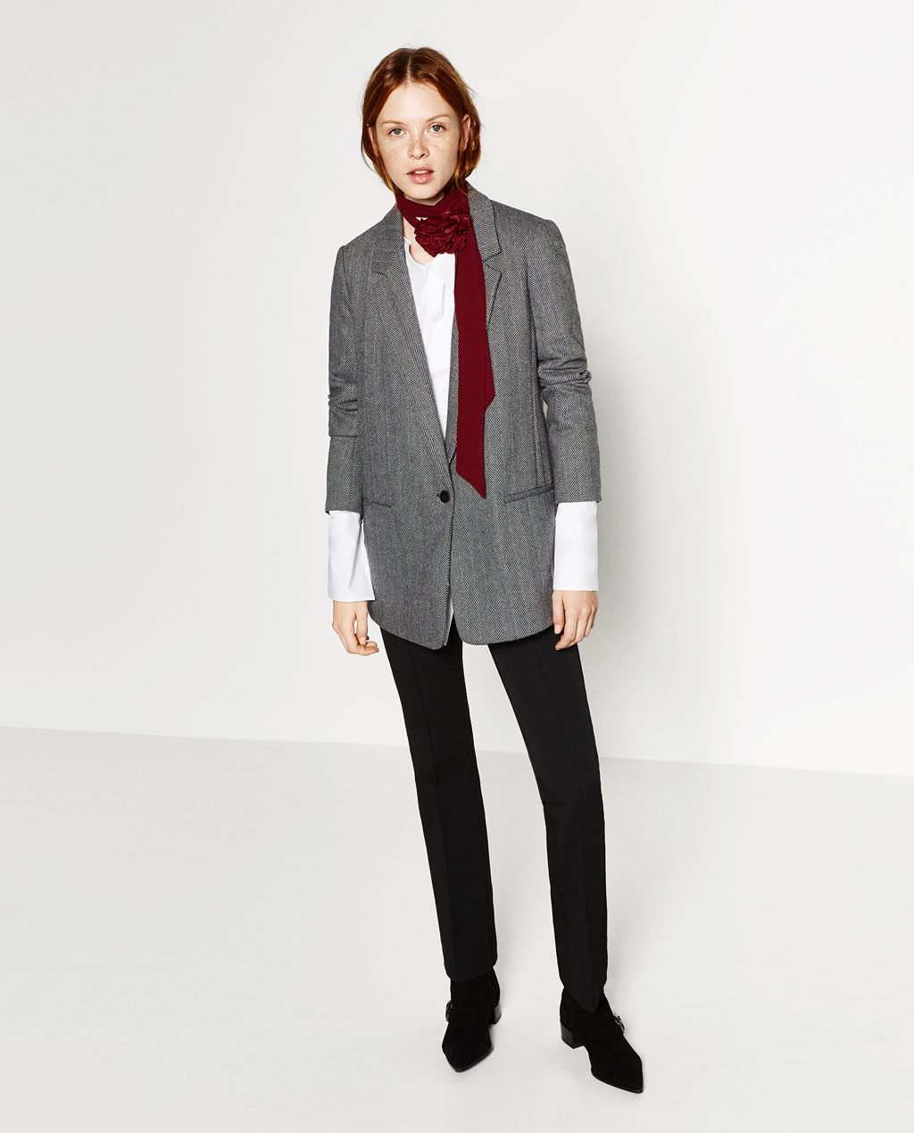 Image 1 of OVERSIZED BLAZER from Zara | Currently Coveting ...