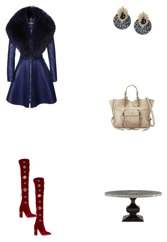 """Grace"" by zoechengrace on Polyvore featuring J. Mendel, Shourouk and Kooba"