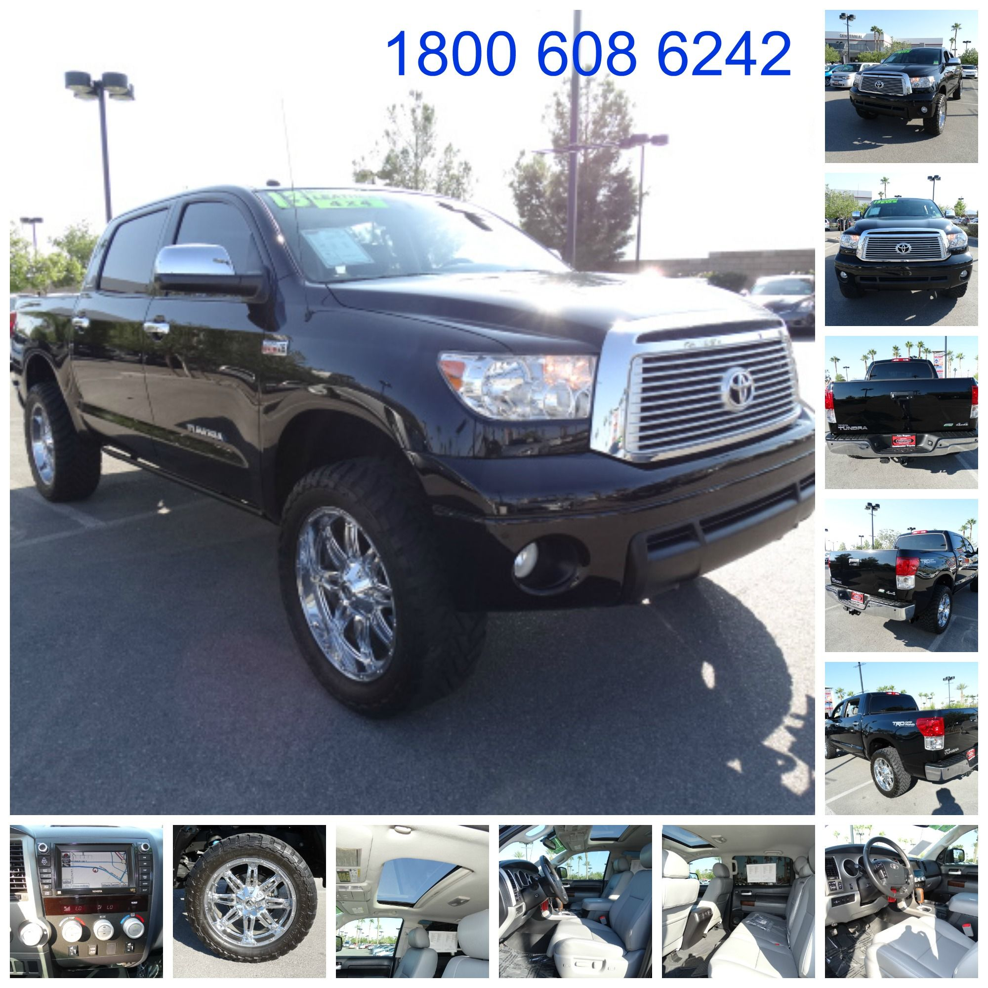 2013 Toyota Tundra CrewMax Limited pickup 4D 5 ½ FT Stock