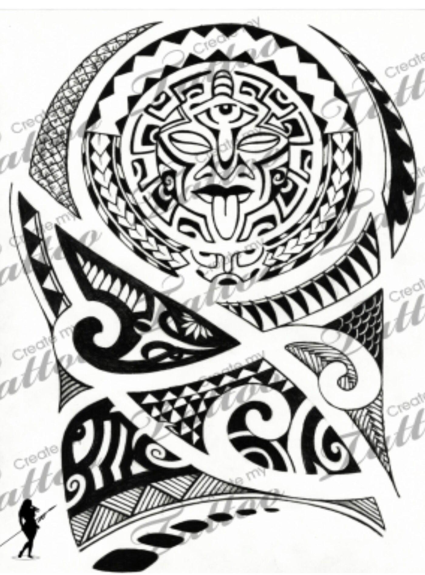 Tattoo Flash Maori: Pin By Beautiful Tattoos And More On Polynesian Tattoos