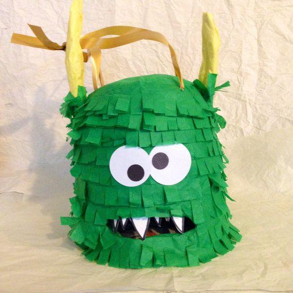 Monster Piñata /Terrible Two by PinataPinatas on Etsy