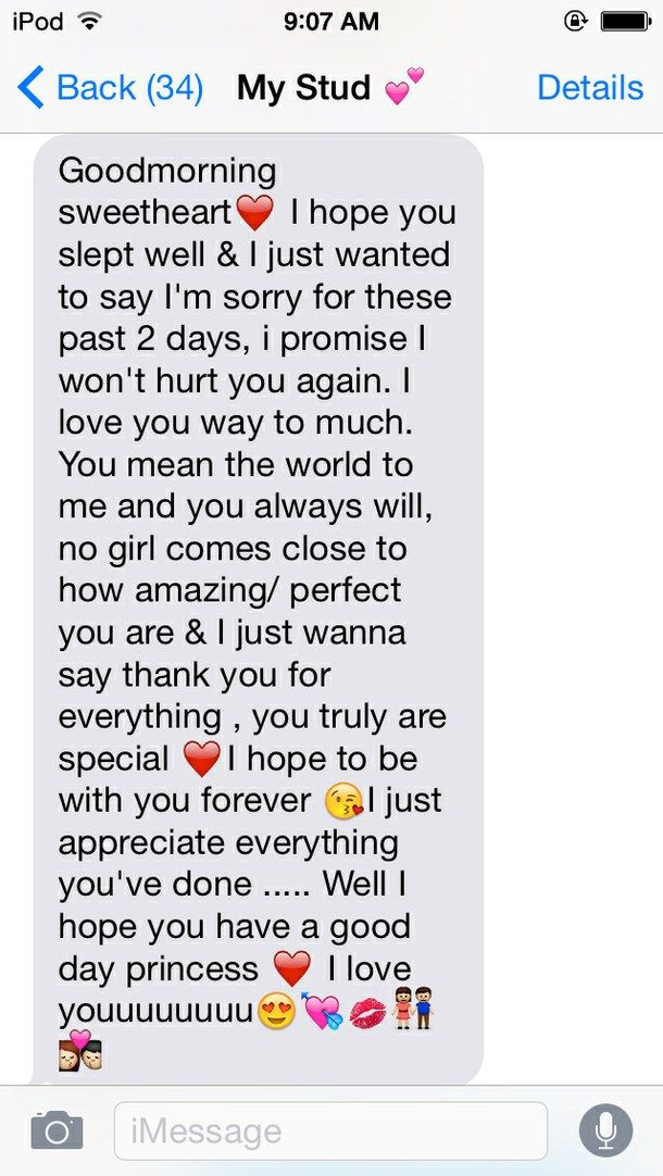 long goodmorning texts to your boyfriend - Google Search ...